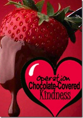 Chocolate-Covered charity - the best kind!