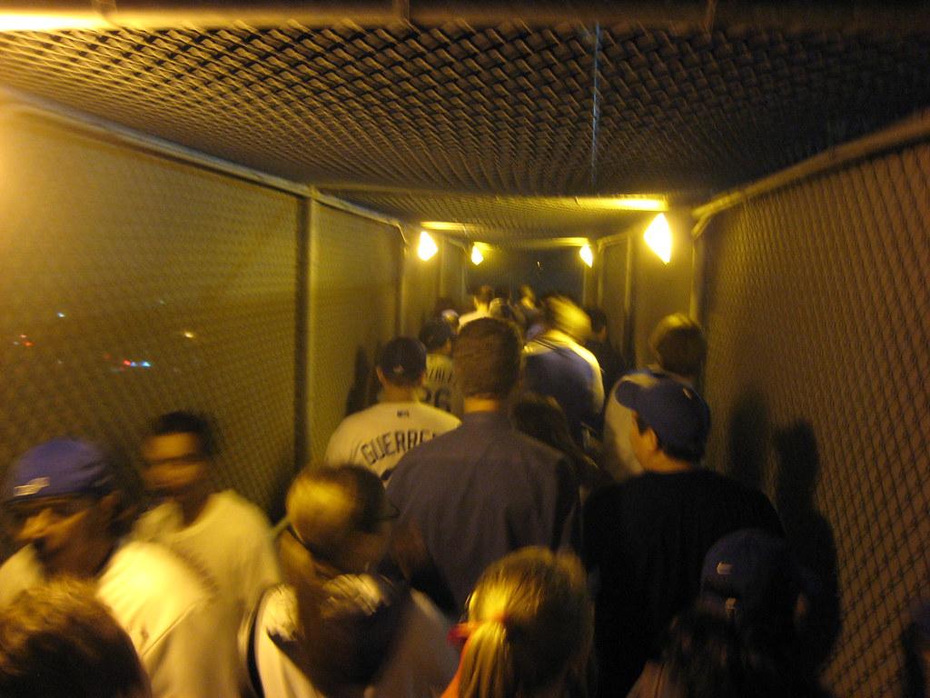 Dodgers Stadium Walkway