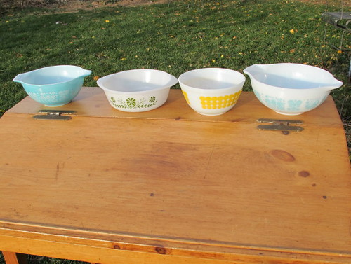 Some of our pyrex finds