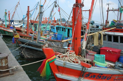 Sri Racha fishing boats