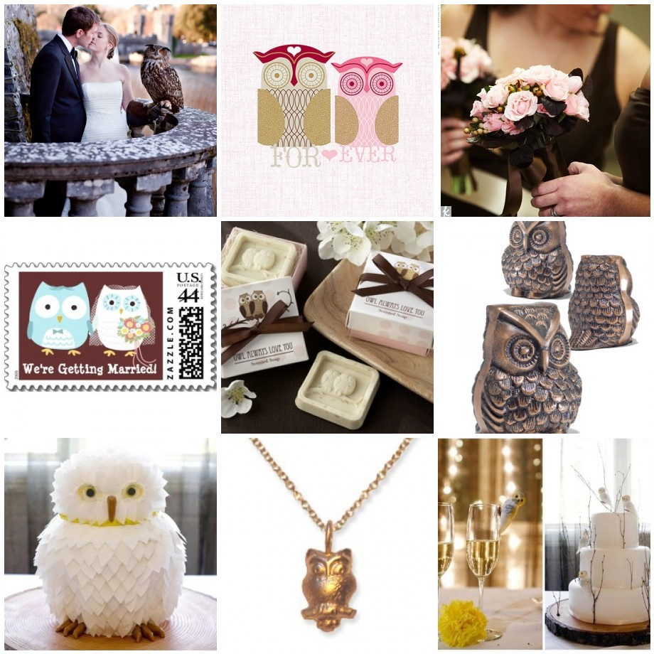 Bird Wedding Theme - Owl Always Love You | Things Festive Weddings ...