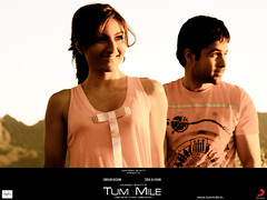 [Poster for Tum Mile with Tum Mile, Kunal Deshmukh, Emraan Hashmi, Soha Ali Khan]