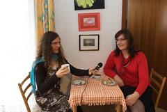 Farah die rasende Reporterin Deutschlands erste und einzige Transgender Reporterin zu Besuch bei Michaela