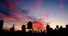 Sunset_4696 (Tom Kostro) Tags: nyc sunset watertower upperwestside