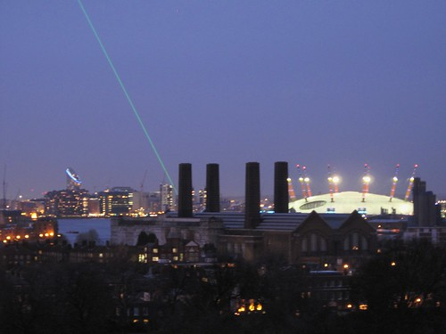 North Greenwich & The Laser Median