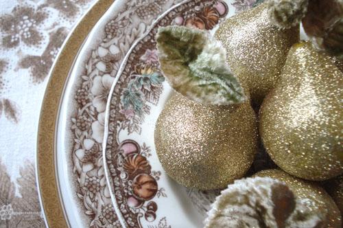 Glittered Pears