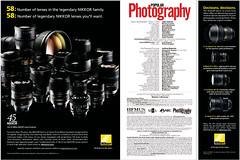 Nikkor lenses advert (PopPhoto, Jan. 2009, pp. 8-9). (Federico Alberto) Tags: glass nikon nikkor lentes lenses cristales popularphotography objetivos popphoto objectifs january2009 enero2009 janvier2009