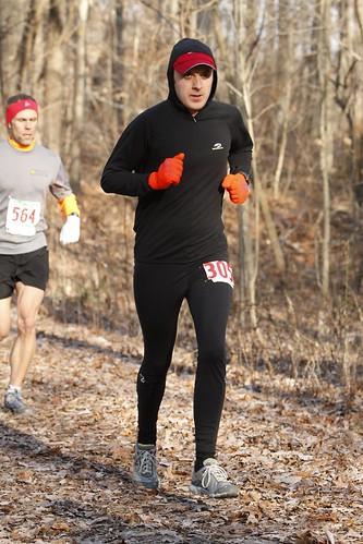 Rob at Tecumseh Marathon
