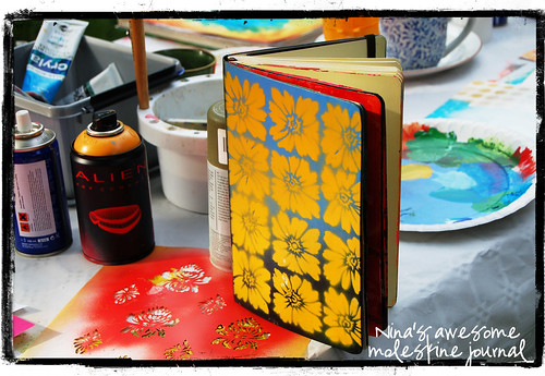 Nina's Moleskine journal (Copyright Hanna Andersson)