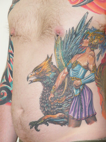 Griffin Tattoo by rowmaster