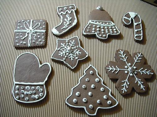 Yeni yıl kurabiyeleri 2