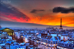 Paris - La Ville Lumire (Stefano Viola) Tags: life christmas sunset paris colors canon buildings tramonto eiffeltower noel torreeiffel romantic madeline colori 1740 parigi palazzi nuances sfumature 50d superstarthebest