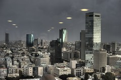 White City Invasion (Or Hiltch) Tags: winter storm rain israel telaviv alien invasion hdr thewhitecity orhiltch top20travelpix