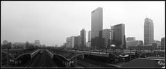 Weena Cluster (Merijn1982) Tags: rotterdam netherlands nederland weena delftse poort centraal station millenniumtoren hoogbouw highrise skyscraper nationale nederlanden weenatoren weenacenter panorama pano