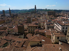 Florence,  Toulouse ! (fabiengelle) Tags: roof italy panorama rooftop florence unesco firenze toscane tuile italie mondial patrimoine toscany tot lumixlx3