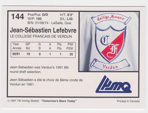 College Francais - LEfebvre back