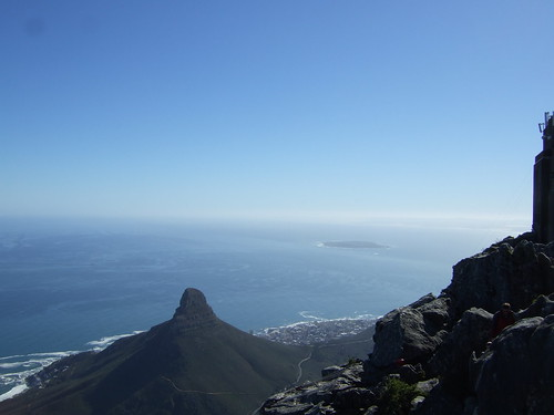 View of Signal Hill and Robben Island
