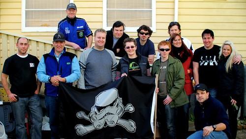 Thylacine Squad + Redback Garrison members.