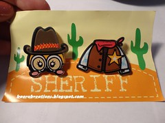 Sheriff Theme Set Brooch