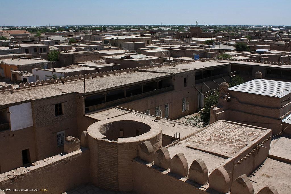 Panorama sur Khiva