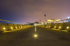 In The Dark (unwanted.exposure) Tags: architecture night singapore sony wide sigma nightscene marinabay 19mm marinabarrage nex7