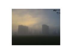 Aarhus, Denmark (December 2016) (csinnbeck) Tags: fog winter morning aarhus denmark iphone december