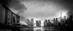 My Country (Gerald Ow) Tags: mbs bay sands marina singapore thehelixbridge geraldow sony a7rii a7rm2 ilce7rm2 fe 1635mm f4 za oss zeiss black white bw marinacentre marinabay cbd central business district flickr cloud sky landscape cityscape wideangle urban