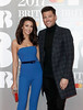 Michelle Keegan and Mark Wright attend The BRIT Awards 2017 at The O2 Arena on February 22, 2017 in London, England. (Photo by John Phillips/Getty Images)