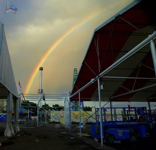 Astrotowers -Rainbow June 27, 2009