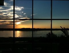 (wcm1111) Tags: sunset window river mississippi tn memphis mississippiriver hm 2009 baw memphistn