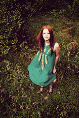 My Princess (Szmytke) Tags: trees portrait green beauty grass topv111 scotland ginger rachel model woods dress sigma redhead explore 24 18 alford keig interestingness370 i500 cothiemuir