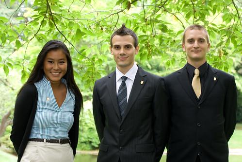UBC Students - Emperor and Empress of Japan visit - UBC Nitobe Memorial Garden