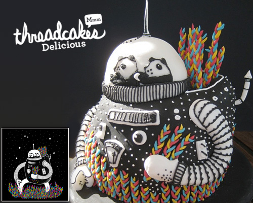 ThreadlessCakes - The Motive Cake