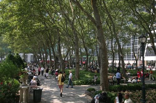 Bryant Park, Manhattan.