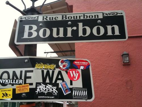 Rue Bourbon (bourbon st.)