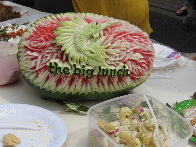 big lunch melon