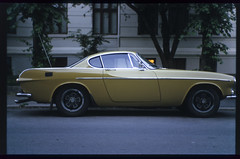 (patrickjoust) Tags: auto street leica city urban color green film sports car oslo norway analog zeiss 35mm lens ed 50mm prime volvo norge nikon focus automobile europa europe flickr fuji with mechanical scanner patrick rangefinder slide v chrome adapter positive manual m3 50 expired joust 35 fujichrome range finder e6 wetzlar p1800 astia f15 100f sonnar reversal leitz opton terrascania autaut zeisscsonnar50mmf15 patrickjoust