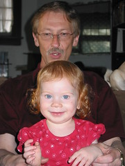 Grandpa R and Lilah