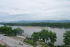 uitzicht hotel in Tak op Menam Ping (JANKUIT) Tags: hotel uitzicht tak menamping