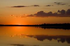Astotin Sunset (TimGoos) Tags: park sunset canada national alberta elkisland astotin
