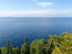 La vue sur la mer, heuuu, le lac !