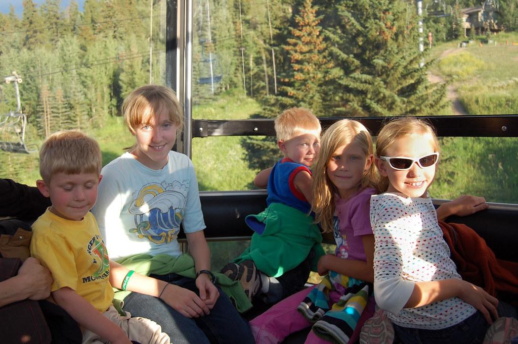 Cousins in Gondola