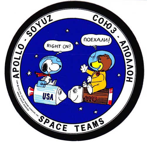 APOLLO-SOYOUZ / FUNNY STICKER / APOLLO-SOYUZ