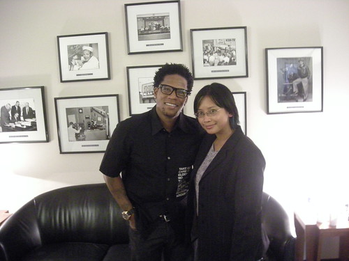 Meeting D. L. Hughley