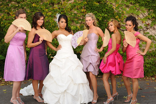 The Bride and her Ladies