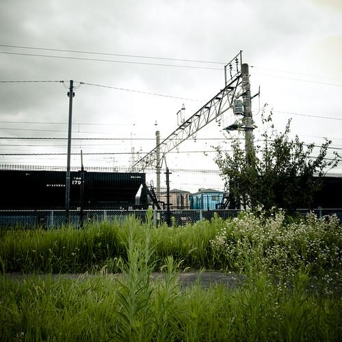 Yard, Rail