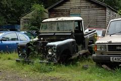 Land Rover series 2A (fryske) Tags: abandoned junk rust norfolk rusty junkyard scrapyard scrap derelict jordans coltishall