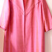 shiny pink coat