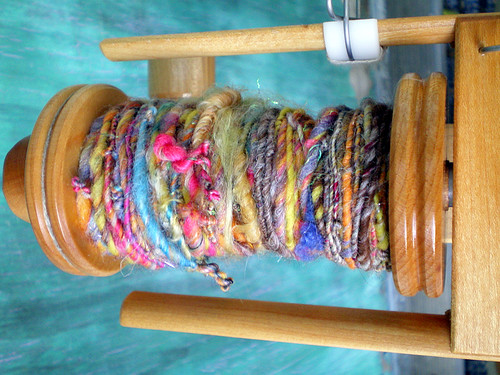Handspun Yarn on the Lendrum Bobbin (2)