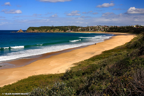 Redhead Australia  city images : Blackhead Beach, Hallidays Point, From Redhead, NSW Australia